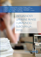 Aktualnosti upravne prakse i upravnog sudovanja - 2010.
